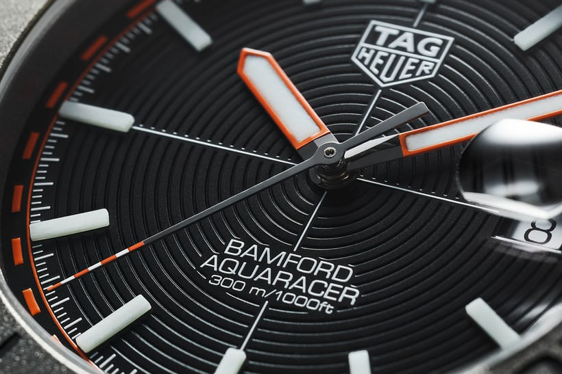 La Replica TAG Heuer Aquaracer Bamford Limited Edition